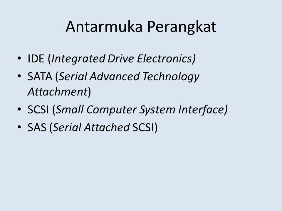 Antarmuka Perangkat IDE (Integrated Drive Electronics)