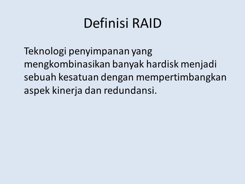 Definisi RAID