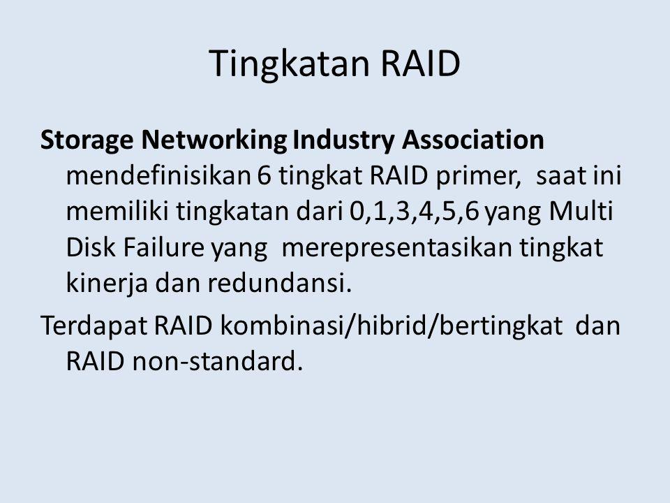 Tingkatan RAID