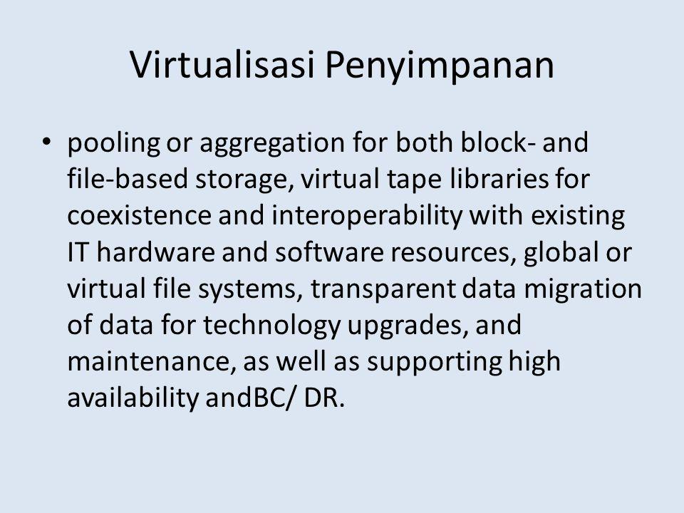 Virtualisasi Penyimpanan