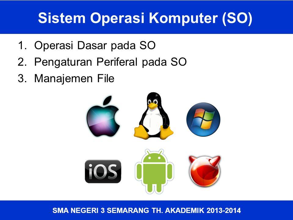 Sistem Operasi Komputer (SO)