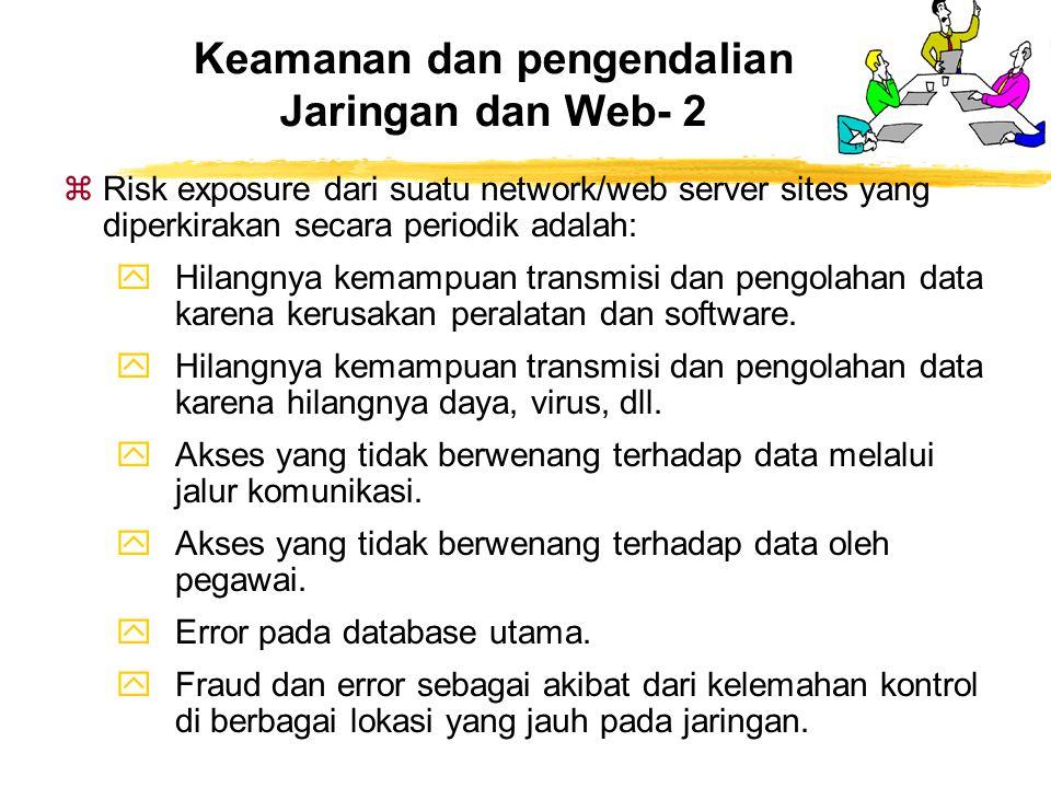 Keamanan dan pengendalian Jaringan dan Web- 2