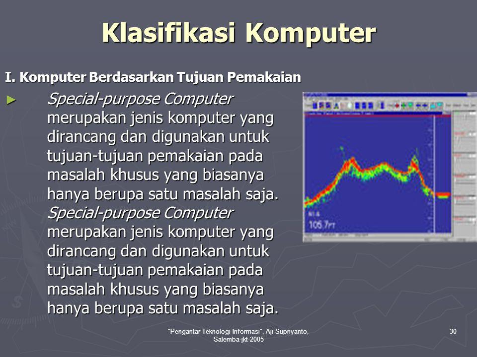 Pengantar Teknologi Informasi , Aji Supriyanto, Salemba-jkt-2005