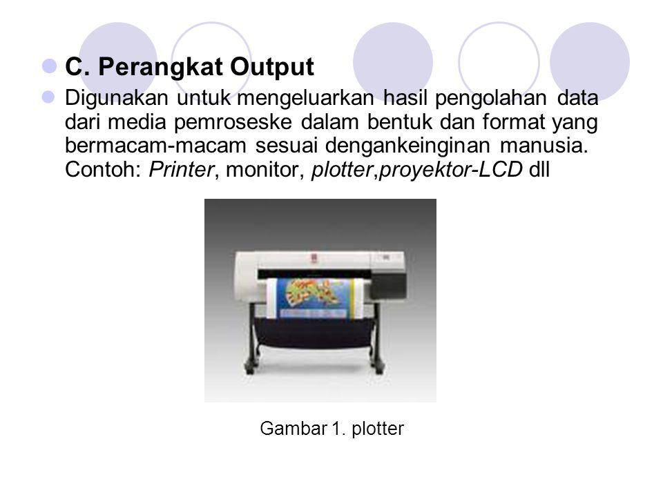 C. Perangkat Output