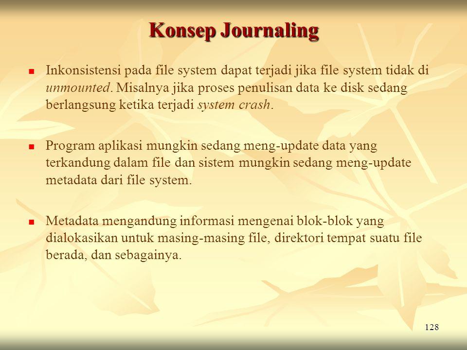 Konsep Journaling