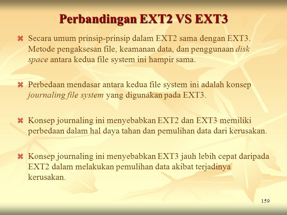 Perbandingan EXT2 VS EXT3