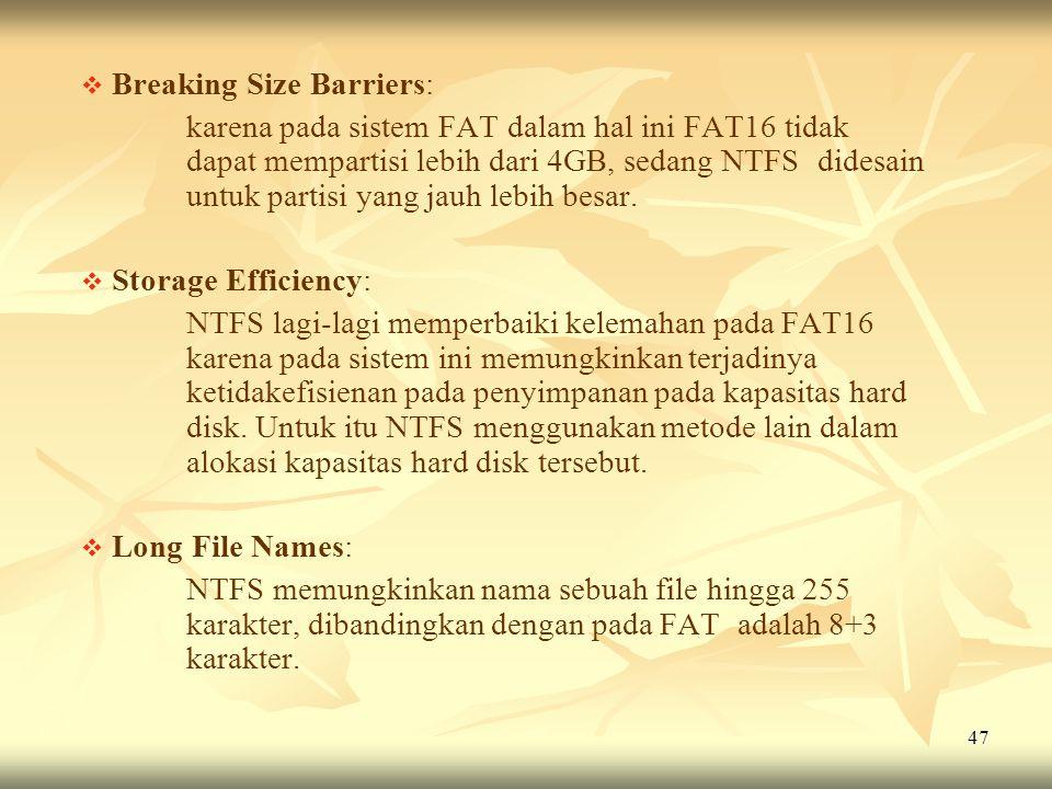 Breaking Size Barriers: