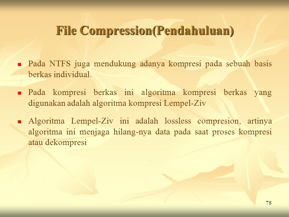 File Compression(Pendahuluan)