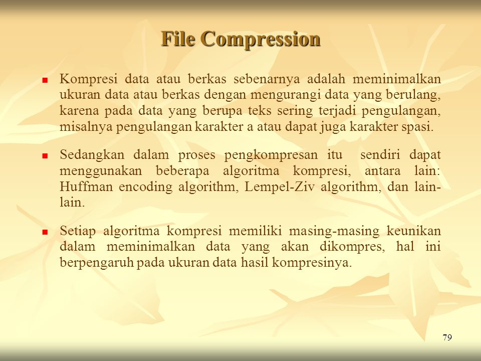 File Compression