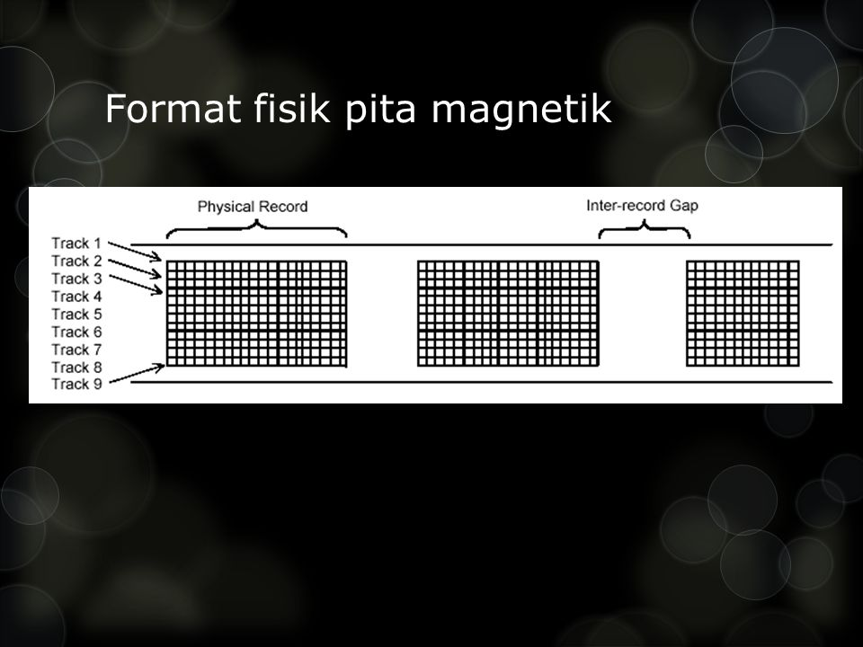 Format fisik pita magnetik