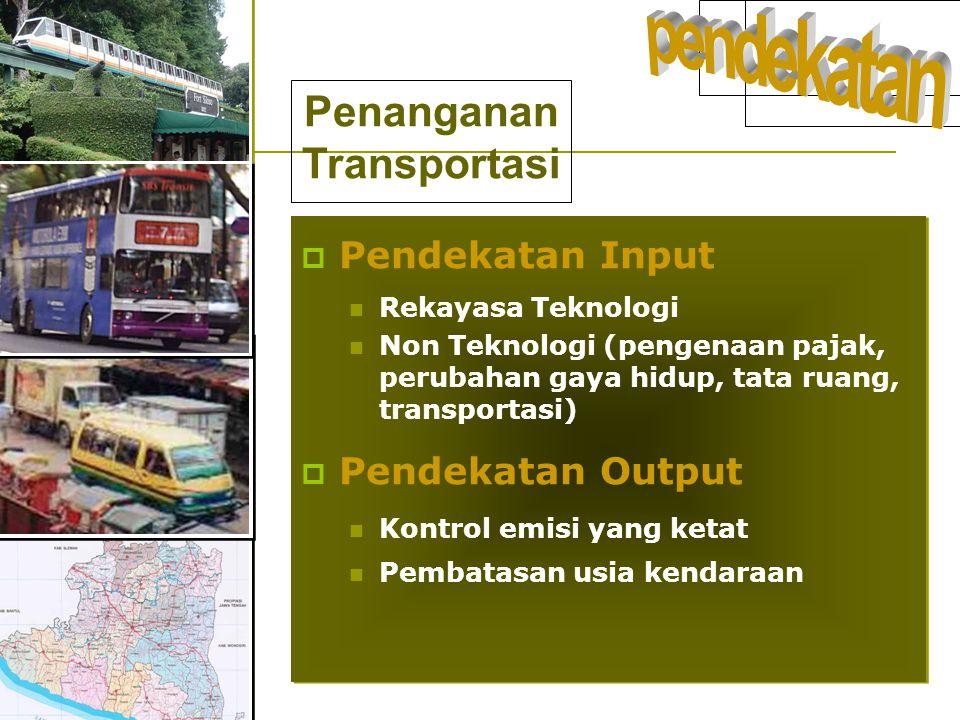 Penanganan Transportasi