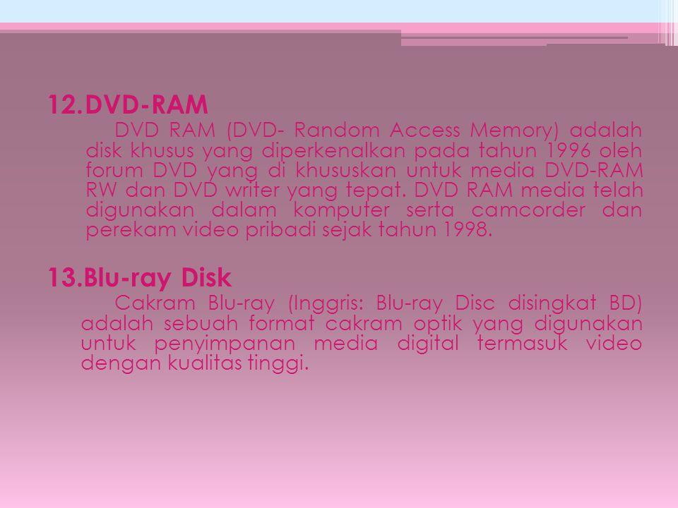 12. DVD-RAM