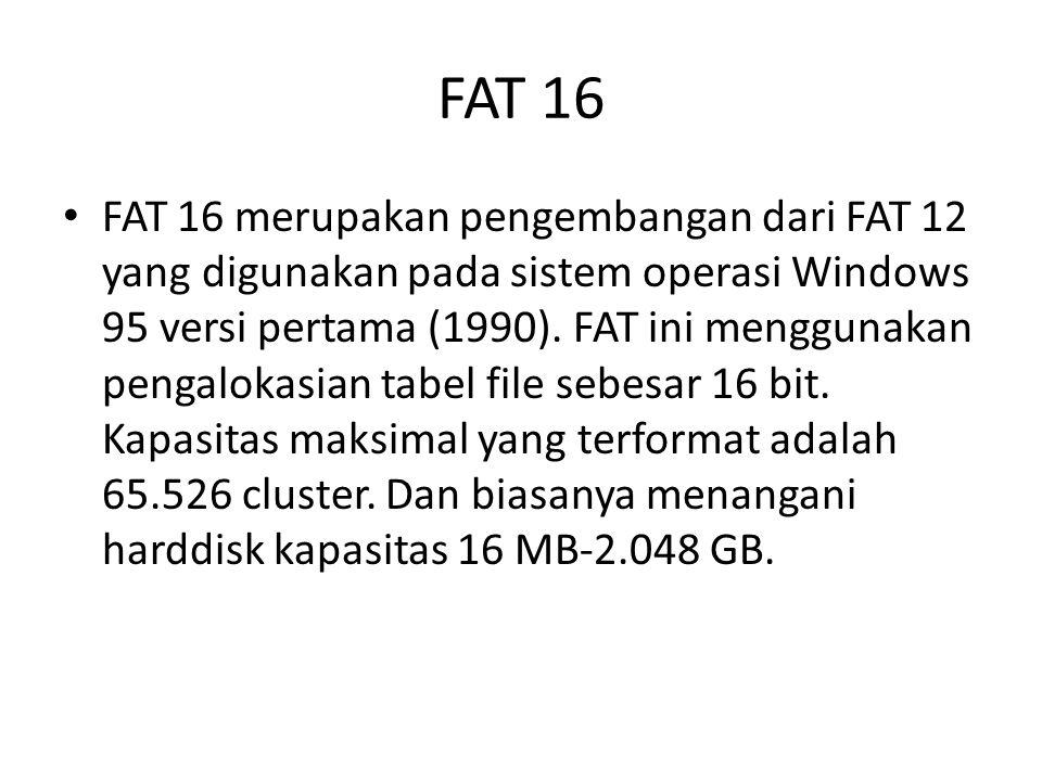 FAT 16