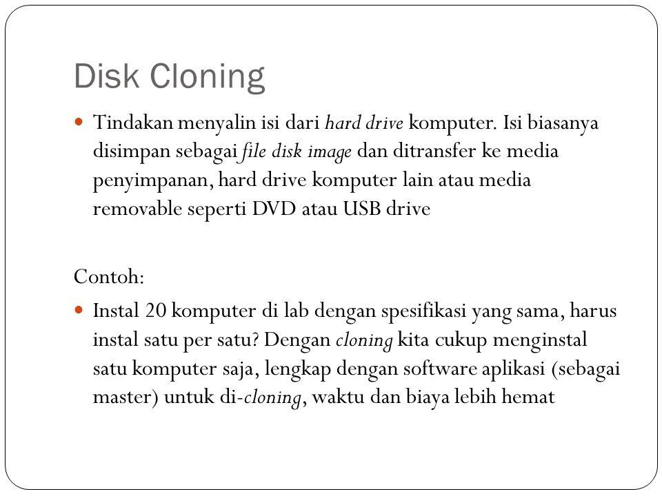 Disk Cloning