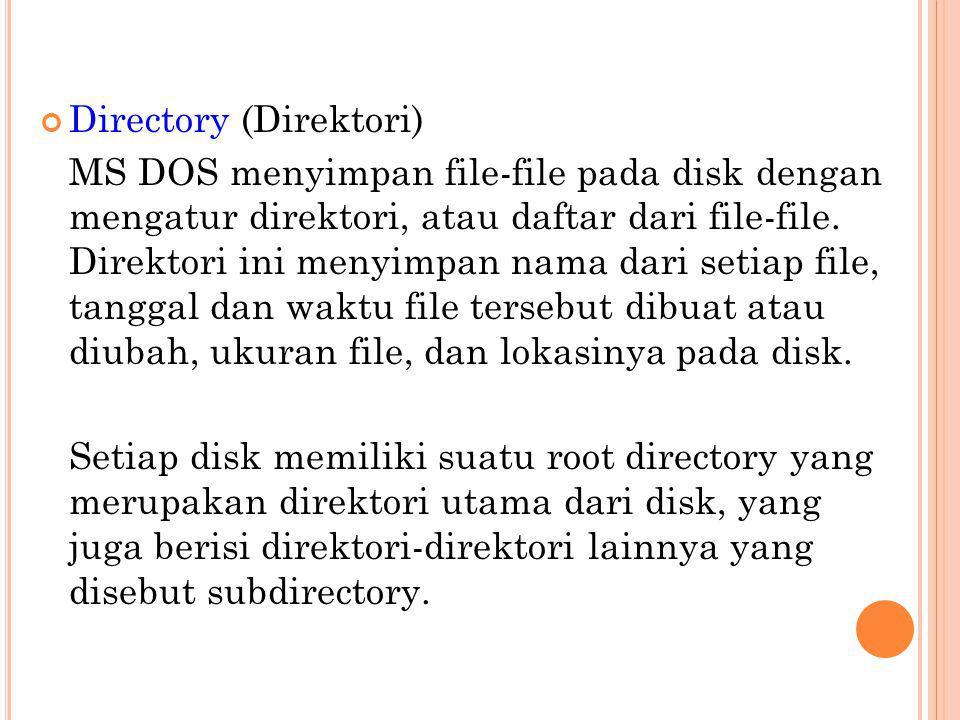 Directory (Direktori)