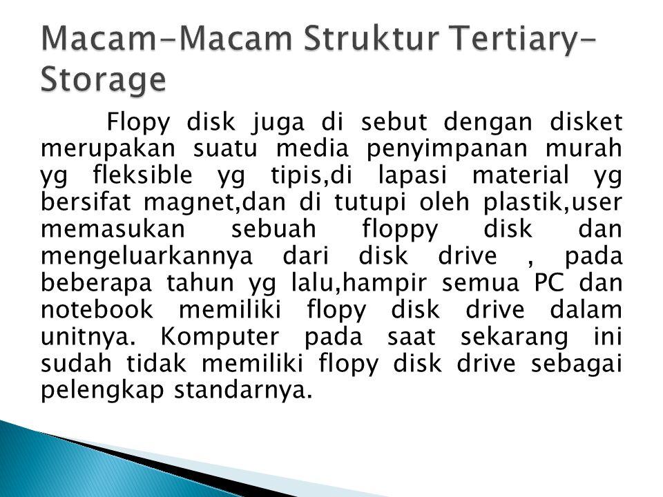 Macam-Macam Struktur Tertiary-Storage