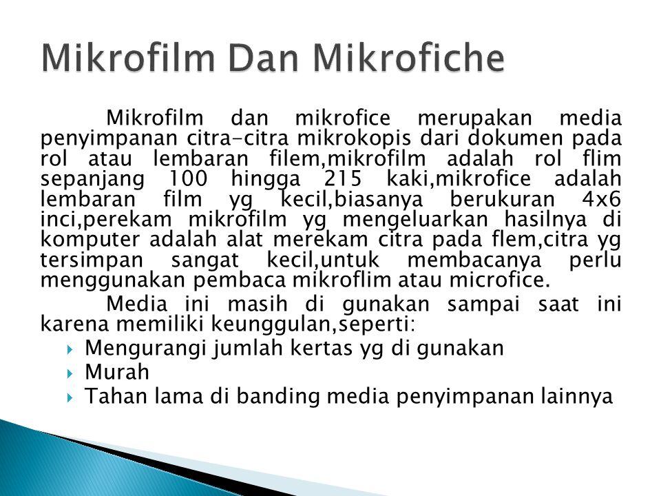 Mikrofilm Dan Mikrofiche