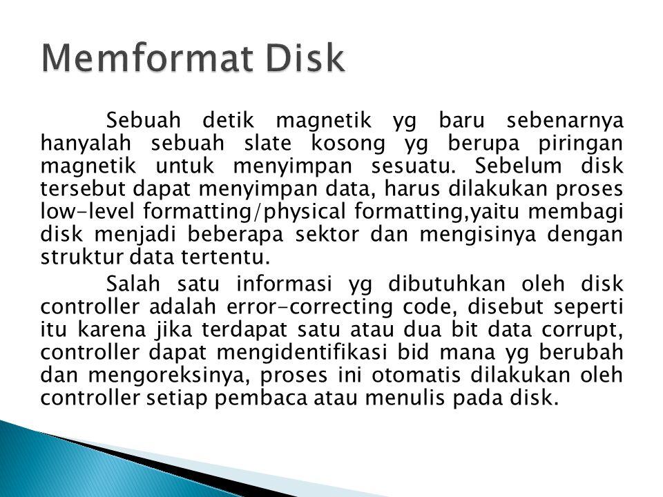 Memformat Disk