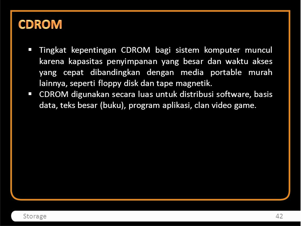 CDROM