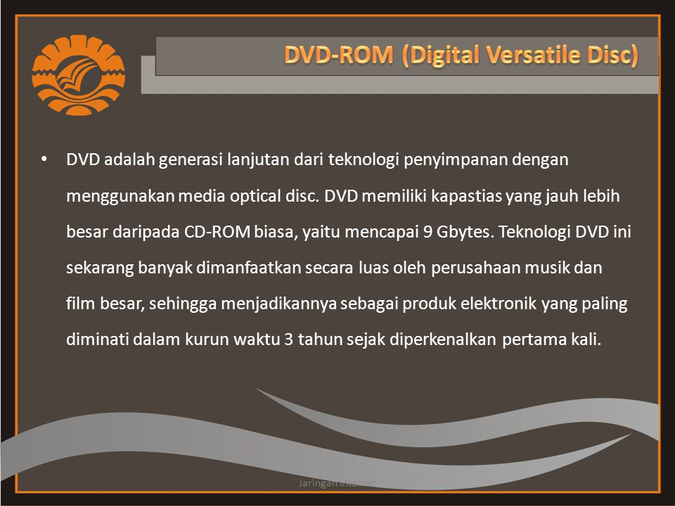 DVD-ROM (Digital Versatile Disc)