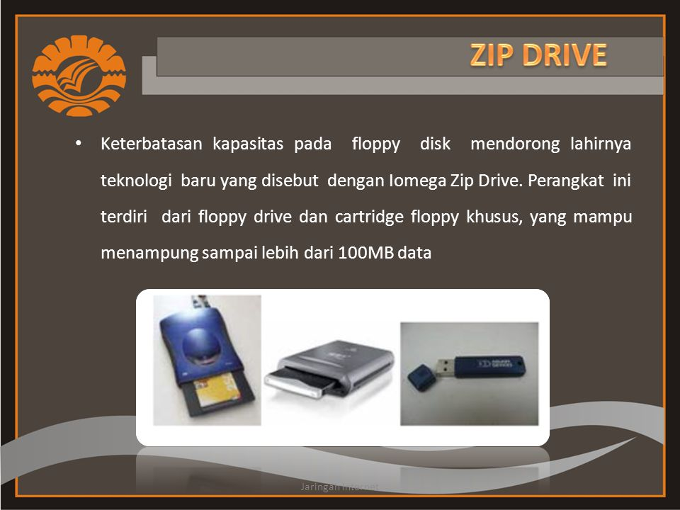 ZIP DRIVE