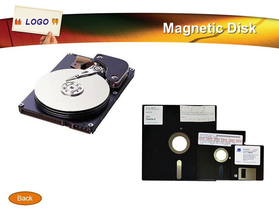 Magnetic Disk Back