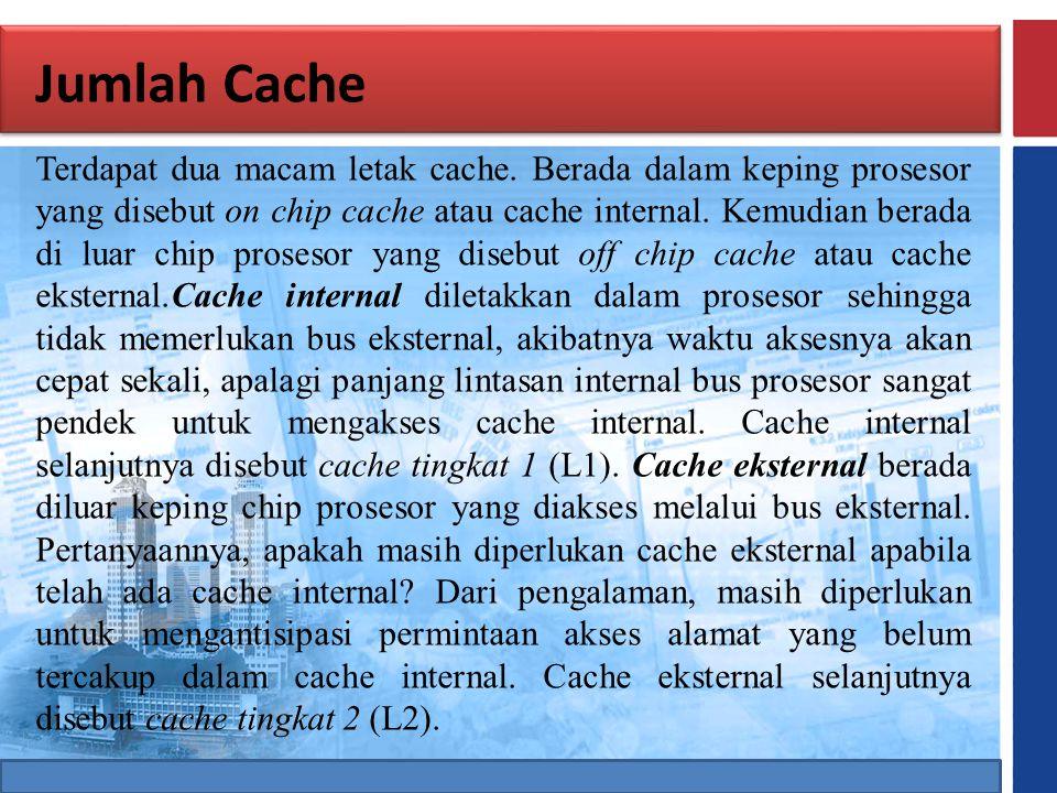 Jumlah Cache