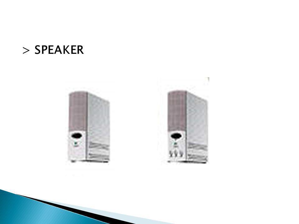 > SPEAKER