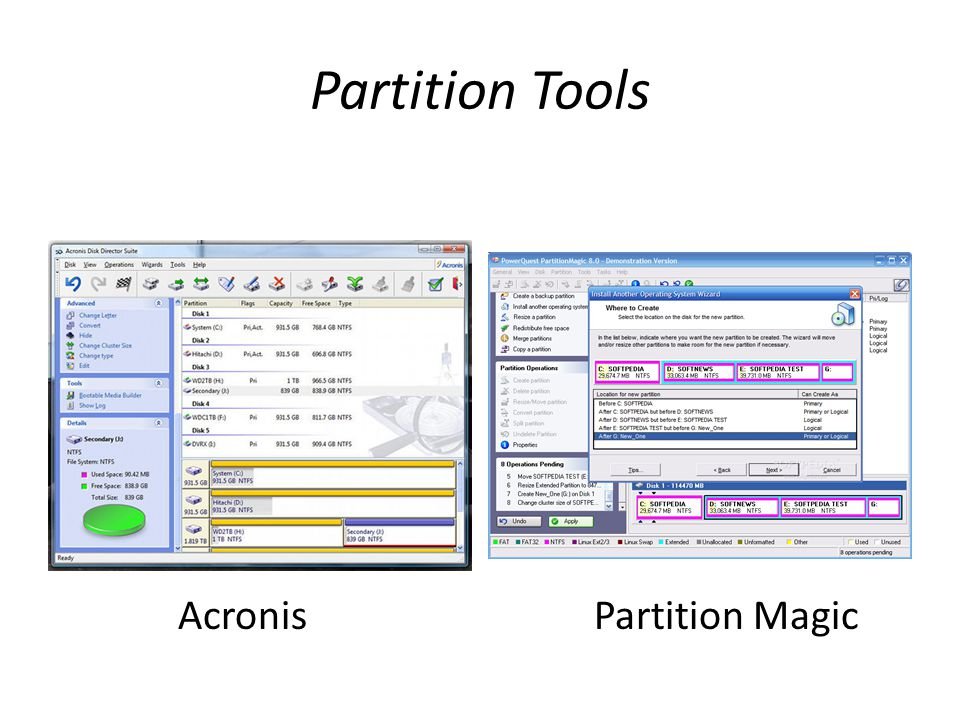 Partition Tools Acronis Partition Magic