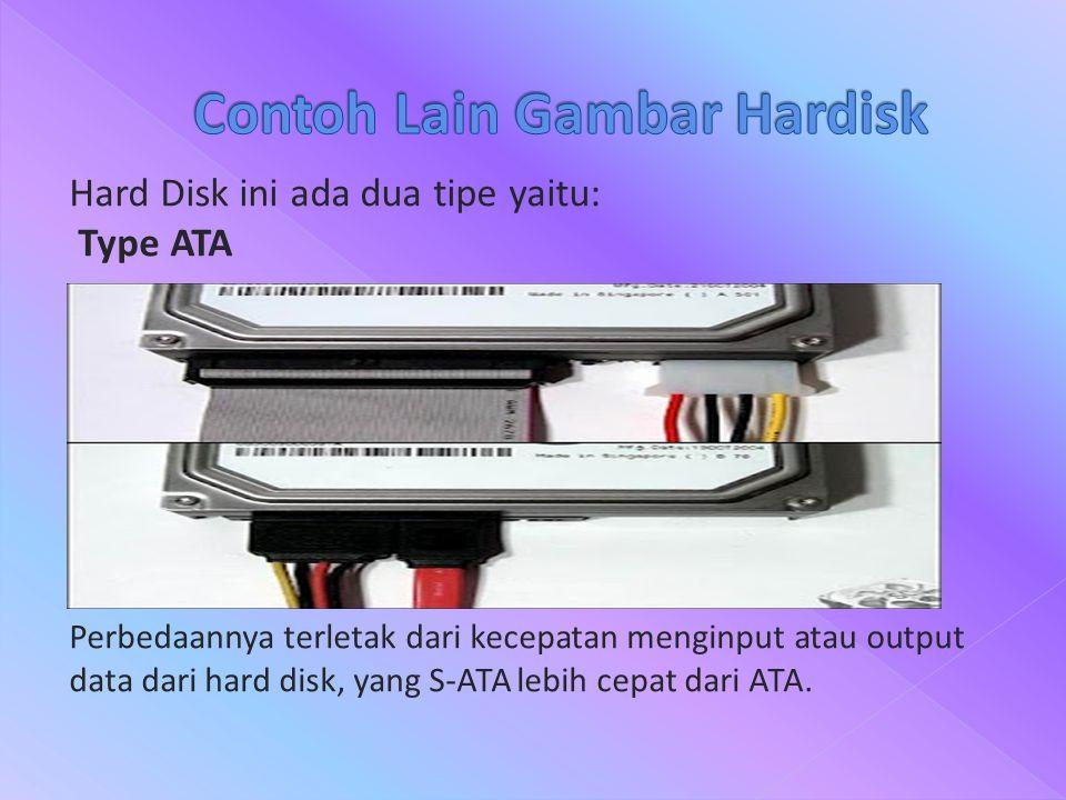 Contoh Lain Gambar Hardisk