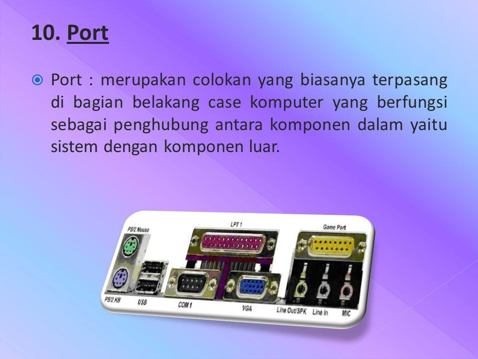 10. Port