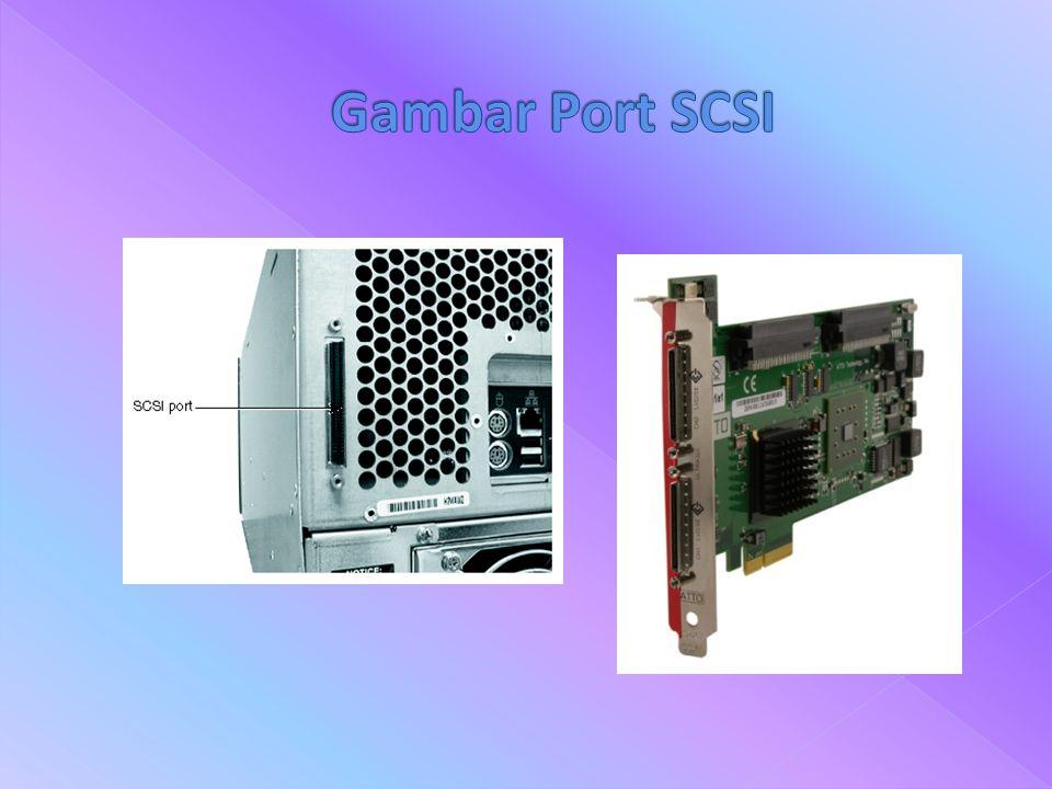 Gambar Port SCSI