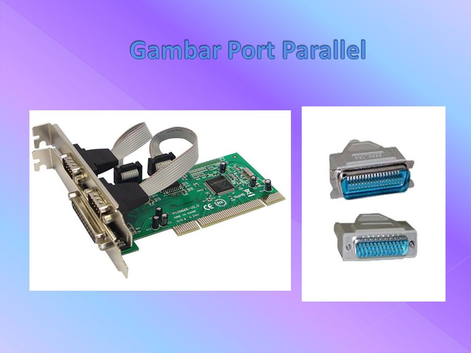 Gambar Port Parallel