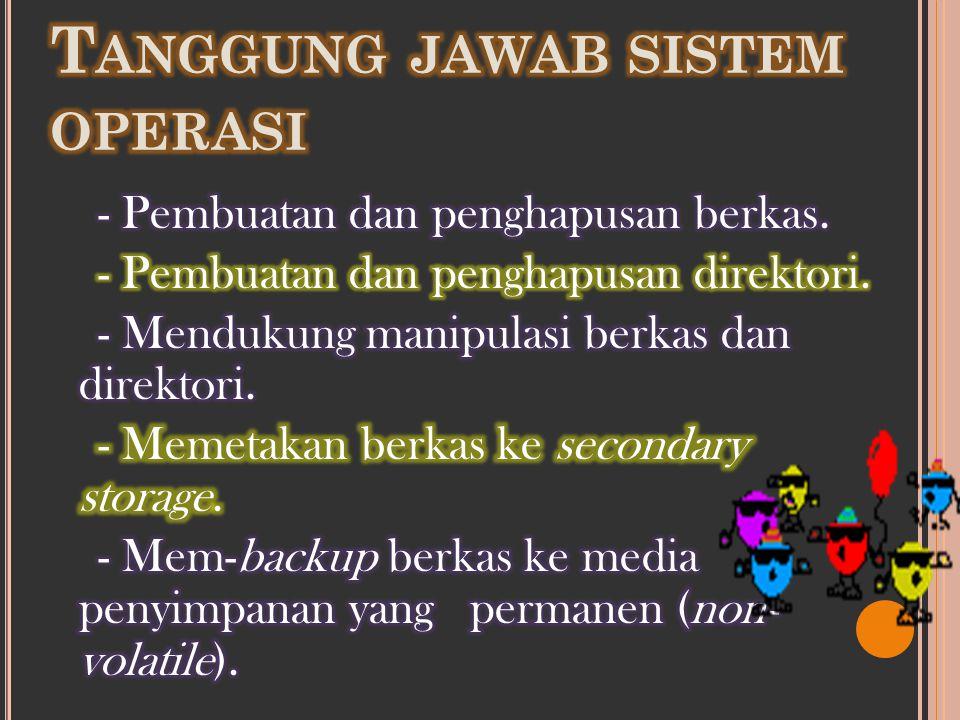 Tanggung jawab sistem operasi