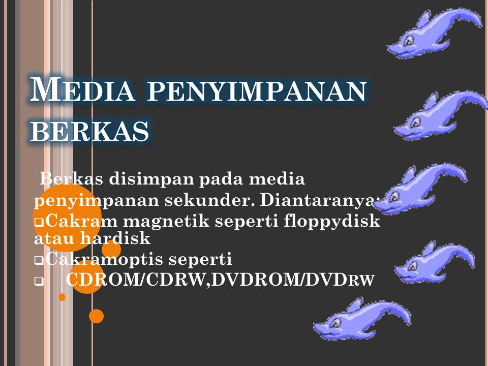 Media penyimpanan berkas