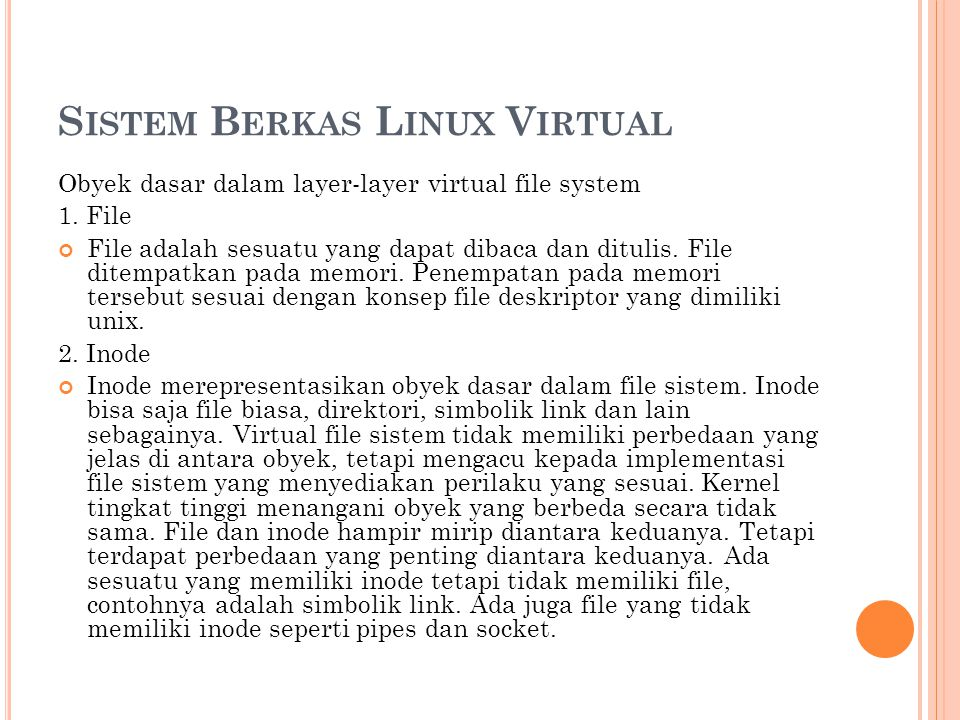 Sistem Berkas Linux Virtual