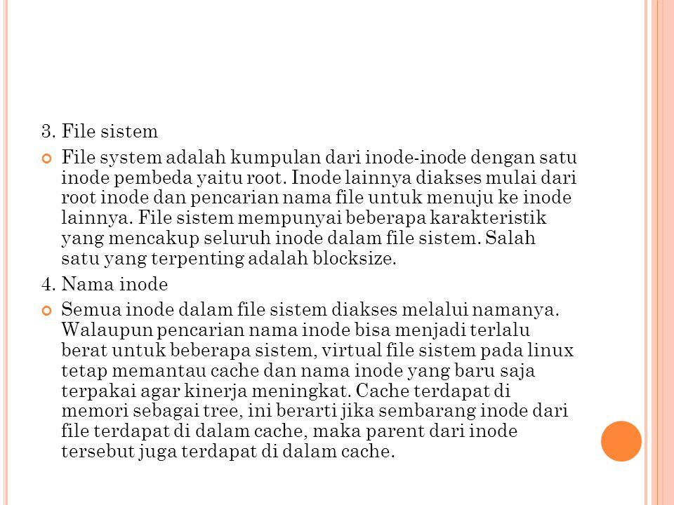 3. File sistem