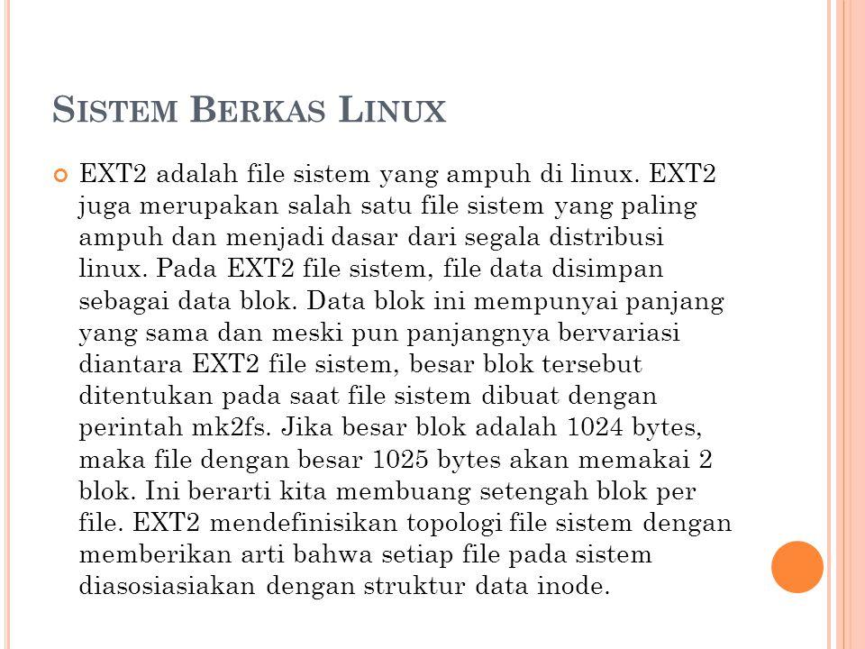Sistem Berkas Linux