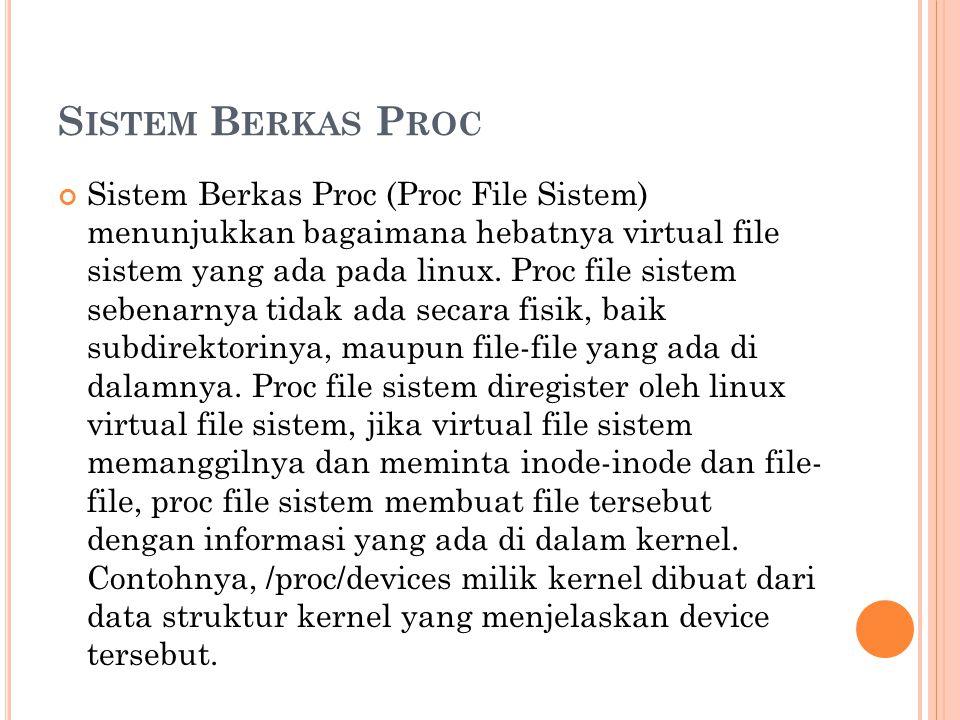 Sistem Berkas Proc