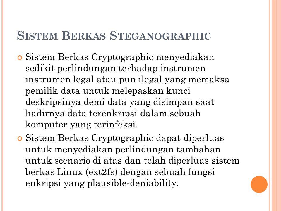 Sistem Berkas Steganographic