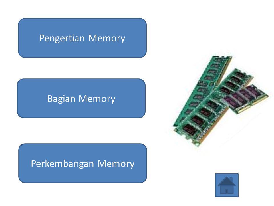Pengertian Memory Bagian Memory Perkembangan Memory