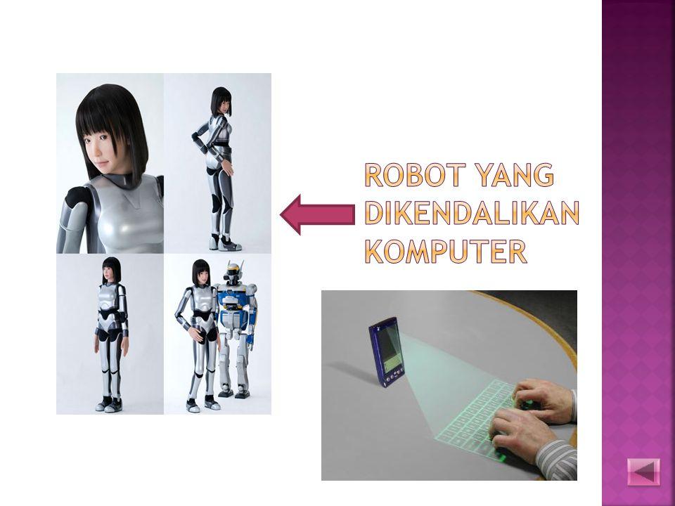 Robot yang Dikendalikan komputer