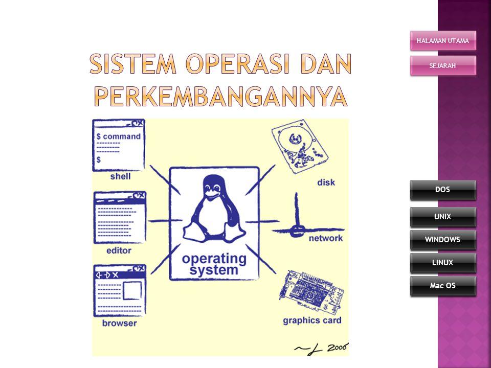 Sistem Operasi dan Perkembangannya