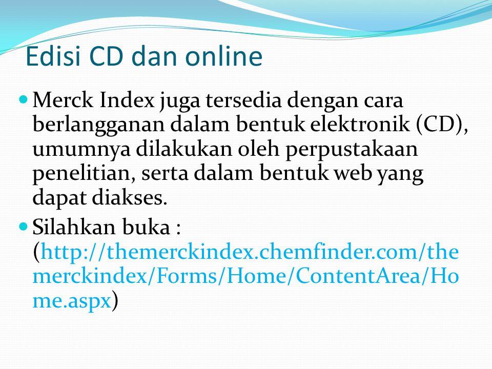 Edisi CD dan online