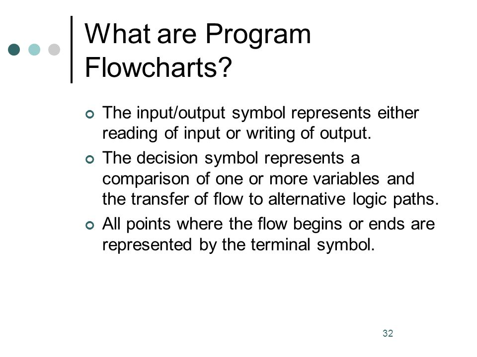 What are Program Flowcharts