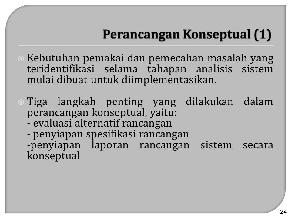 Perancangan Konseptual (1)