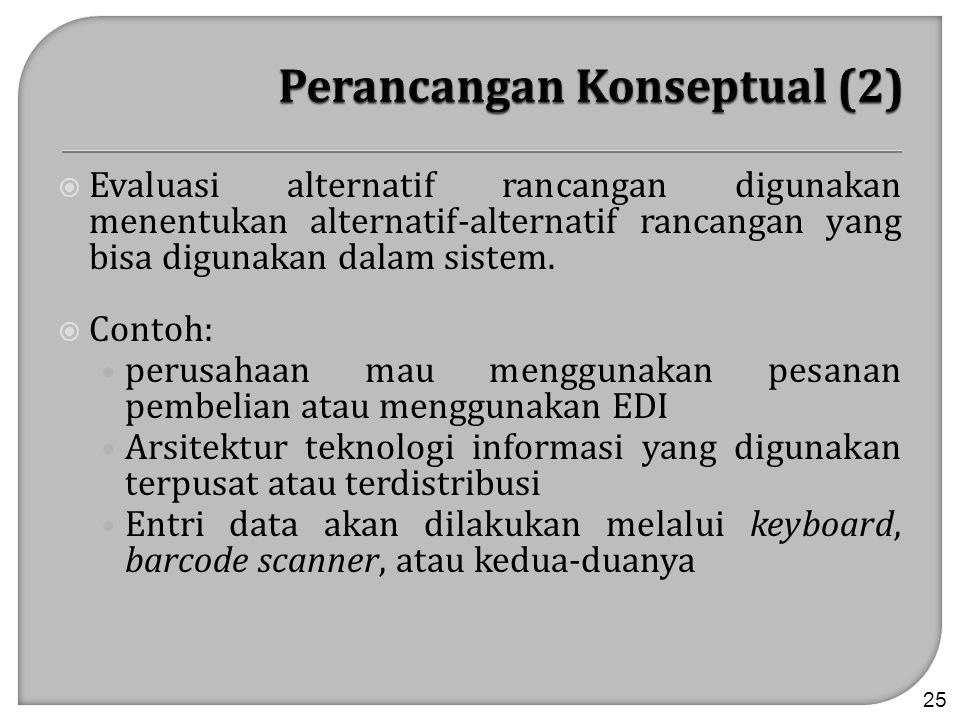 Perancangan Konseptual (2)