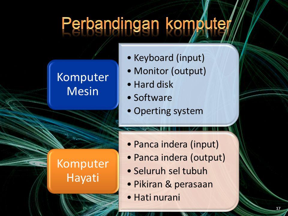 Perbandingan komputer