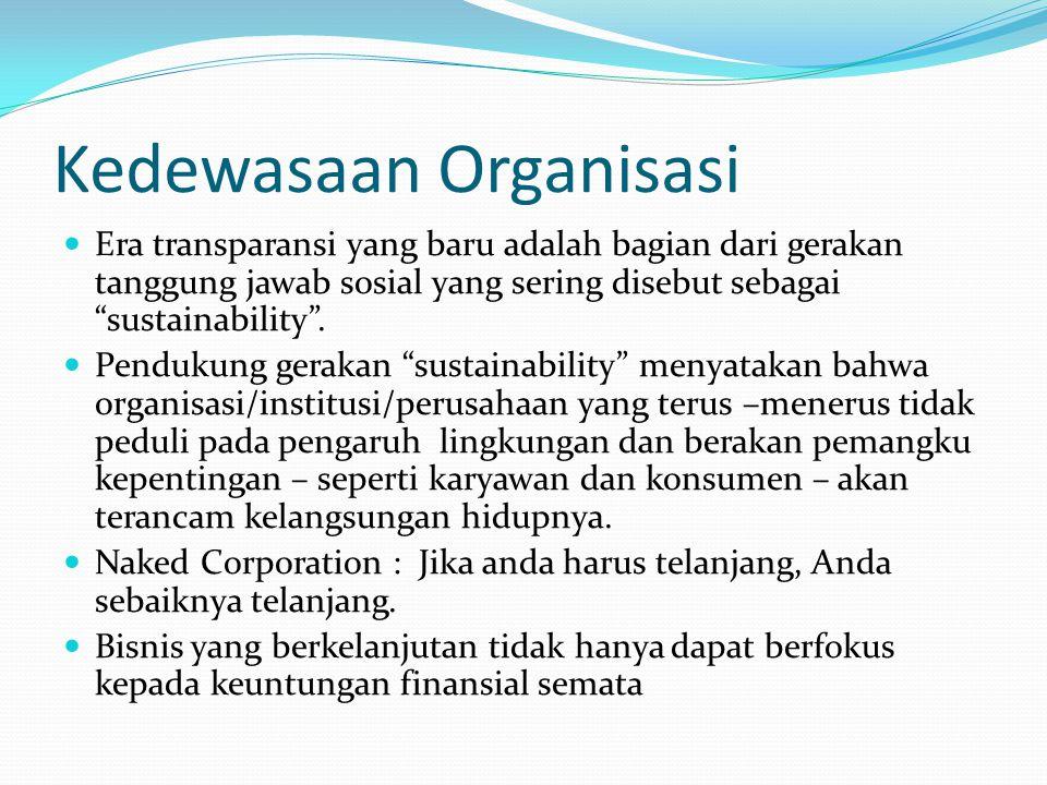 Kedewasaan Organisasi