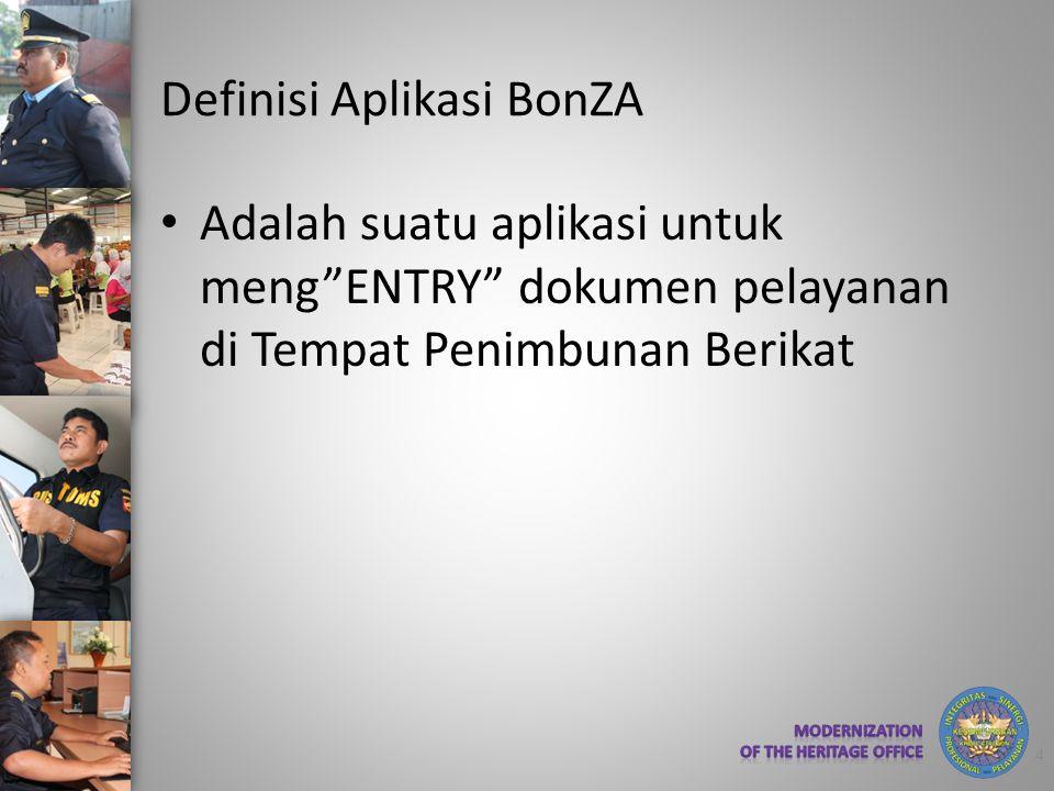 Definisi Aplikasi BonZA
